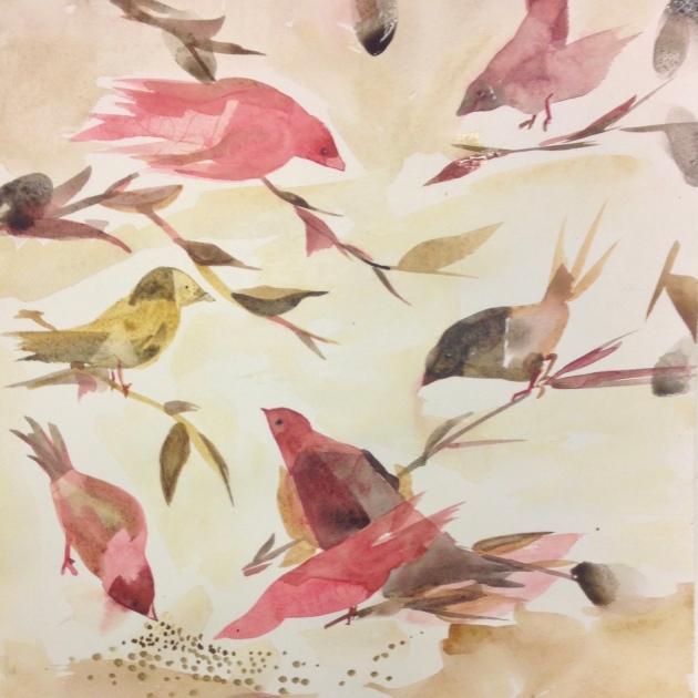 rød fugl – Versjon 2
